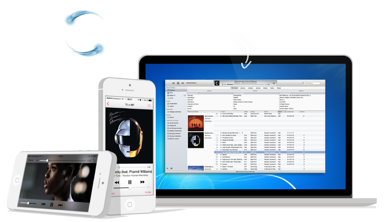 Transfer iPod to iTunes & PC