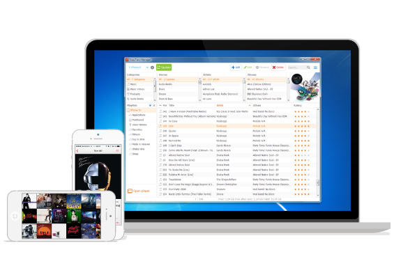 The free iTunes alternative for iPhone, iPad and iPod